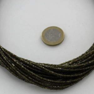 Cat's eye/Gree Obsidian_Tyre_Faceted_Beads_By_Ariyangems