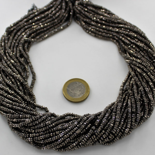 Gray_Plated_Pyrite_Tyre_Faceted_Beads_By_Ariyangems