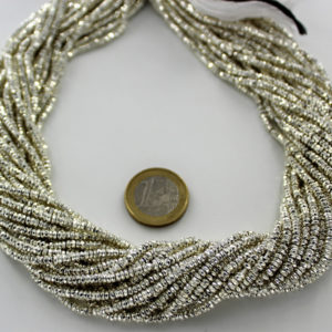 White_Gold_Plated_Pyrite_Tyre_Faceted_Beads_By_Ariyangems
